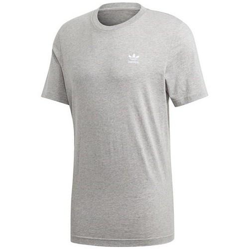 Textil Muži Trička s krátkým rukávem adidas Originals Essential Tee Šedé