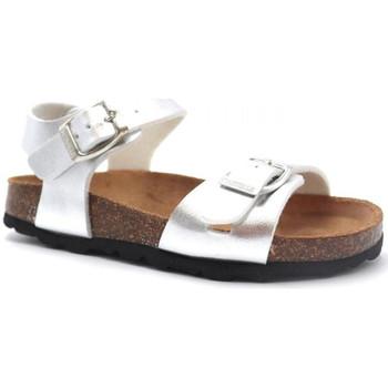 Boty Dívčí Sandály Pastelle Salome Stříbrná