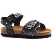 Boty Děti Sandály Pastelle Salome Černá