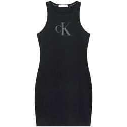 Textil Ženy Krátké šaty Calvin Klein Jeans J20J215663 Černá
