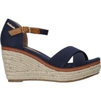 Boty Ženy Sandály Refresh 72879 Modrý