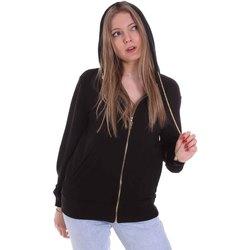 Textil Ženy Mikiny Cristinaeffe 4960 Černá