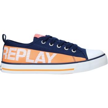 Boty Děti Nízké tenisky Replay GBV24 .003.C0002T Modrý