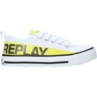 Boty Děti Nízké tenisky Replay GBV24 .322.C0002T Bílý