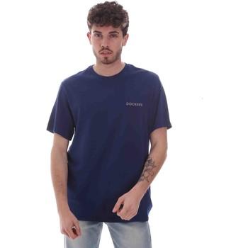 Textil Muži Trička s krátkým rukávem Dockers 27406-0116 Modrý