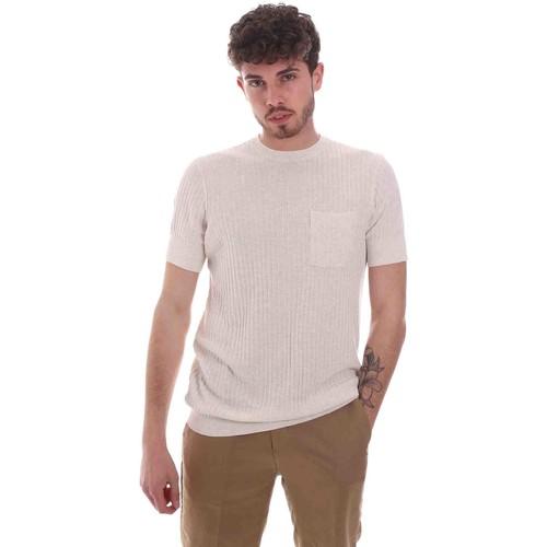Textil Muži Trička s krátkým rukávem Antony Morato MMSW01179 YA500068 Béžový