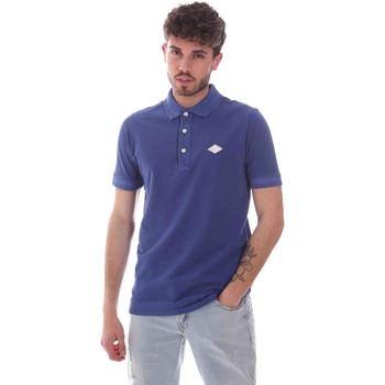 Textil Muži Polo s krátkými rukávy Replay M3070 .000.22696G Modrý