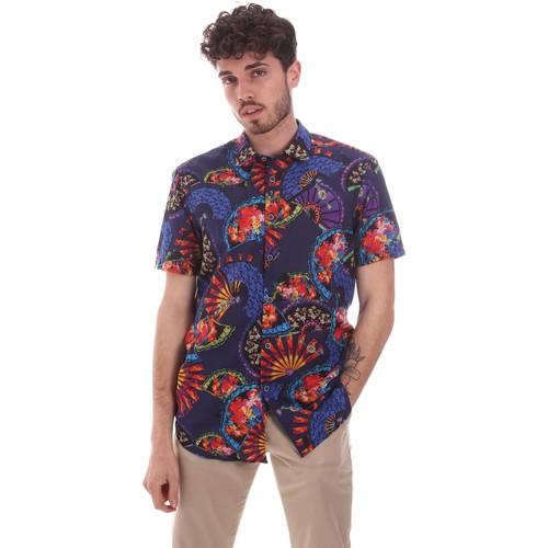 Textil Muži Košile s krátkými rukávy Sseinse CE665SS Modrý