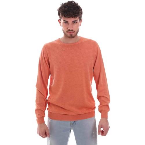 Textil Muži Svetry Sseinse ME1836SS Oranžový