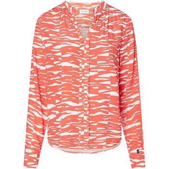 Textil Ženy Košile / Halenky Calvin Klein Jeans K20K202730 Oranžový