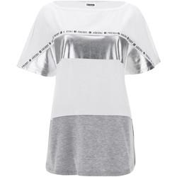 Textil Ženy Trička s krátkým rukávem Freddy S1WSDT2M Bílý