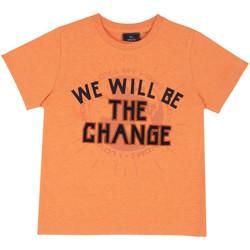 Textil Děti Trička s krátkým rukávem Chicco 09067318000000 Oranžový