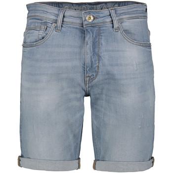 Textil Muži Kraťasy / Bermudy Gaudi 111GU26037 Modrý