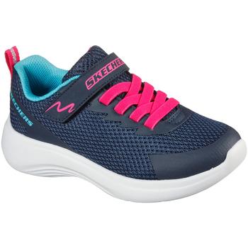 Boty Děti Nízké tenisky Skechers 302470L Modrý
