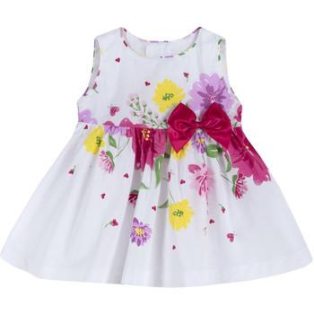 Textil Dívčí Krátké šaty Chicco 09003900000000 Bílý