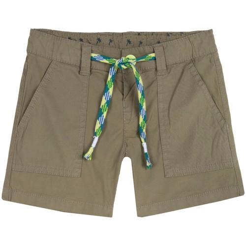 Textil Dívčí Kraťasy / Bermudy Chicco 09052976000000 Zelený