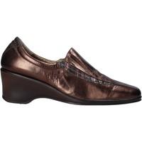 Boty Ženy Mokasíny Confort 6309 Hnědý