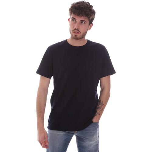 Textil Muži Trička s krátkým rukávem Navigare NV71003 Modrý