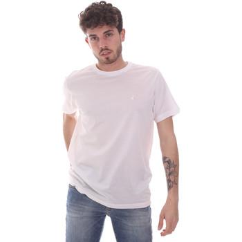 Textil Muži Trička s krátkým rukávem Navigare NV71003 Bílý