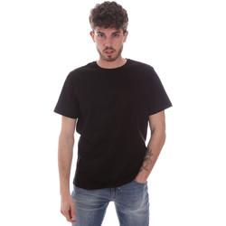 Textil Muži Trička s krátkým rukávem Navigare NV71003 Černá