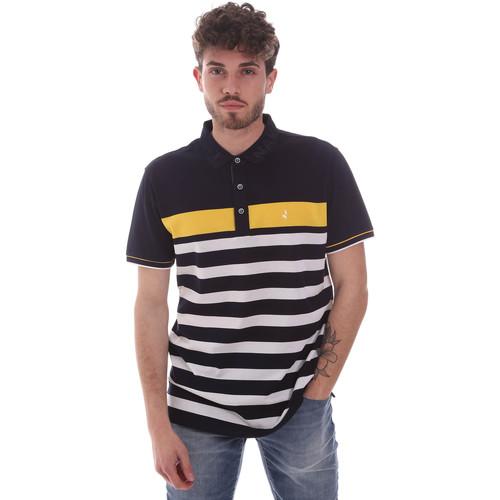 Textil Muži Polo s krátkými rukávy Navigare NV70028 Modrý