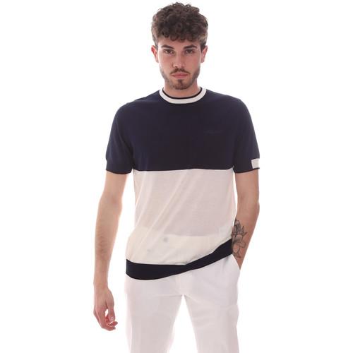 Textil Muži Trička s krátkým rukávem Antony Morato MMSW01166 YA100062 Modrý