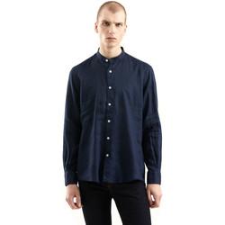 Textil Muži Košile s dlouhymi rukávy Refrigiwear RM0C10100LI9110 Modrý