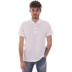 Textil Muži Polo s krátkými rukávy Navigare NV82108 Bílý