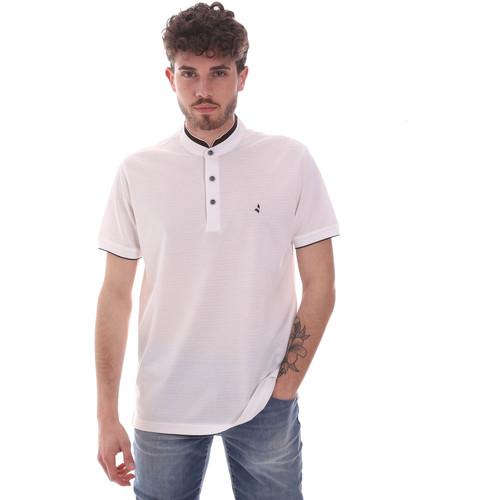 Textil Muži Polo s krátkými rukávy Navigare NV72072 Bílý