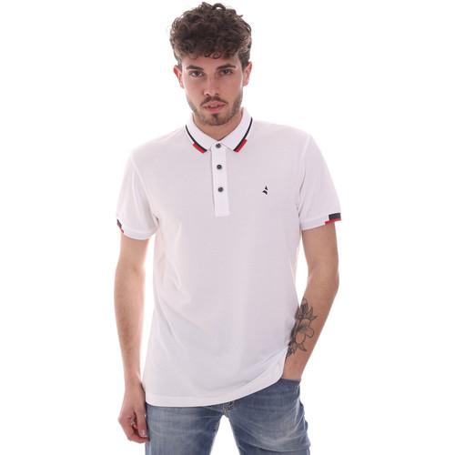 Textil Muži Polo s krátkými rukávy Navigare NV82113 Bílý