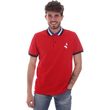 Textil Muži Polo s krátkými rukávy Navigare NV82116 Červené