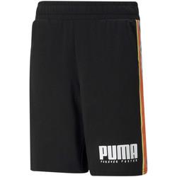 Textil Děti Kraťasy / Bermudy Puma 585900 Černá