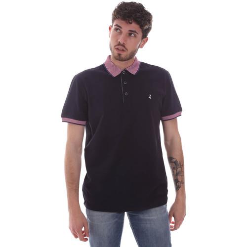 Textil Muži Polo s krátkými rukávy Navigare NV82125 Modrý