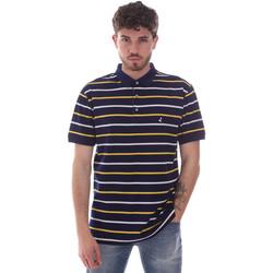 Textil Muži Polo s krátkými rukávy Navigare NV70029 Modrý