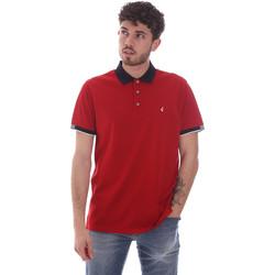 Textil Muži Polo s krátkými rukávy Navigare NV72058 Červené