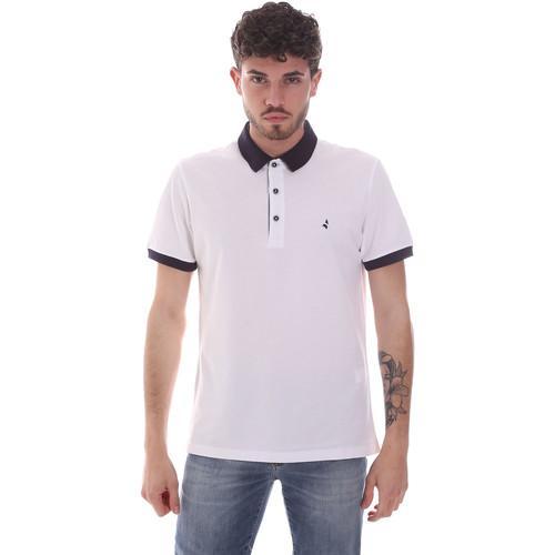 Textil Muži Polo s krátkými rukávy Navigare NV82124 Bílý