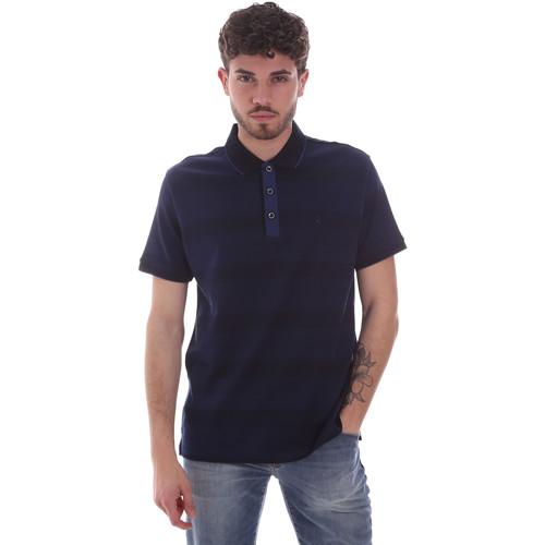 Textil Muži Polo s krátkými rukávy Navigare NV70035 Modrý
