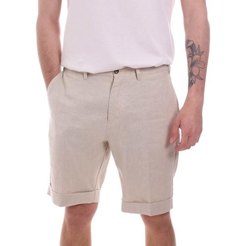 Textil Muži Kraťasy / Bermudy Navigare NV56055 Béžový