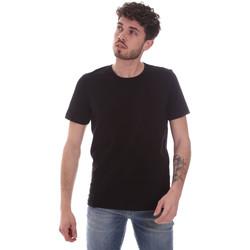 Textil Muži Trička s krátkým rukávem Gaudi 111GU64048 Černá