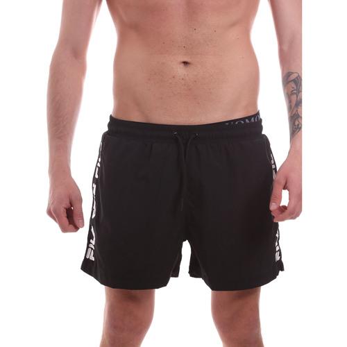 Textil Muži Plavky / Kraťasy Fila 688923 Černá