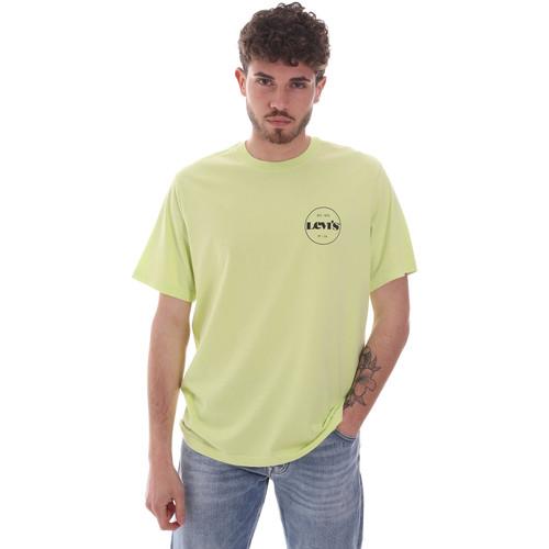Textil Muži Trička s krátkým rukávem Levi's 16143-0121 Žlutá