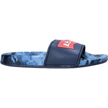 Boty Děti pantofle Levi's VPOL0071S Modrý