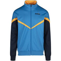 Textil Muži Mikiny Diadora 502176080 Modrý