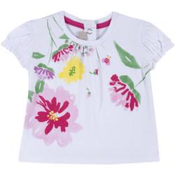 Textil Dívčí Trička s krátkým rukávem Chicco 09067270000000 Bílý