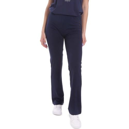 Textil Ženy Turecké kalhoty / Harémky Key Up 5LI20 0001 Modrý