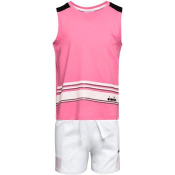 Textil Děti Set Diadora 102175915 Růžový