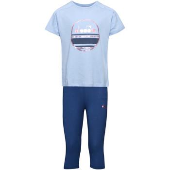 Textil Děti Set Diadora 102175918 Modrý