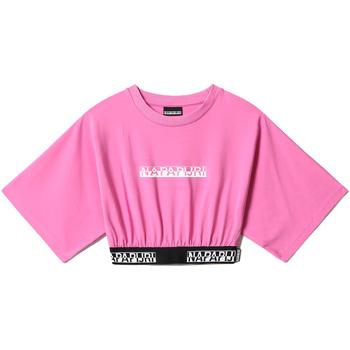 Textil Ženy Halenky / Blůzy Napapijri NP0A4FHH Růžový