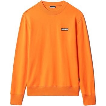 Textil Mikiny Napapijri NP0A4FF7 Oranžový