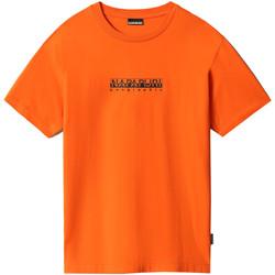 Textil Ženy Trička s krátkým rukávem Napapijri NP0A4FF5 Oranžový